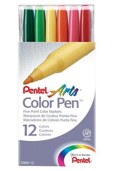Flomāsteri COLOR PEN (12)