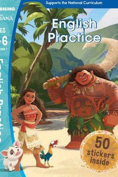 Moana. English Practice. Ages 5 - 6