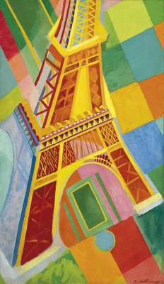 Puzle - Eiffel Tower 300 Robert Delaunay