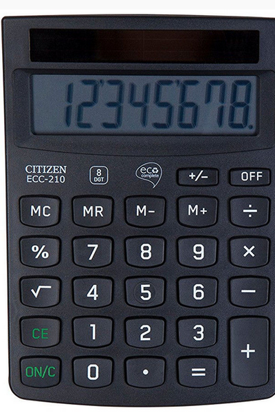 Kalkulators CITIZEN ECC-210