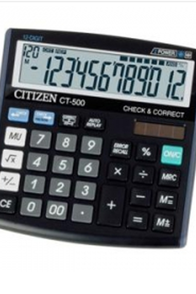 Kalkulators CITIZEN CT-500 J