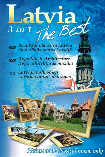 Latvia The Best 3 in 1