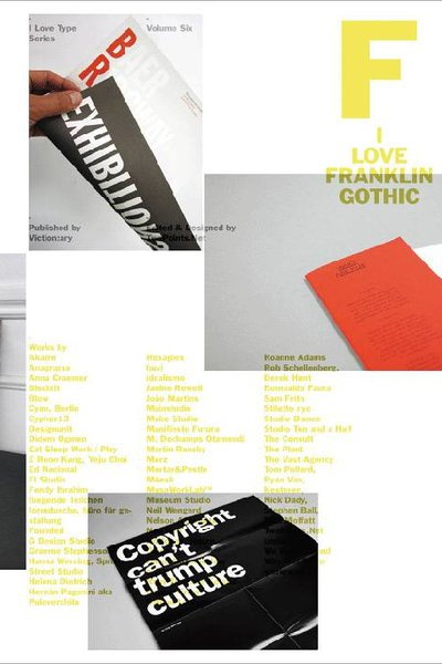 I Love Type Series 06. I Love Franklin Gothic