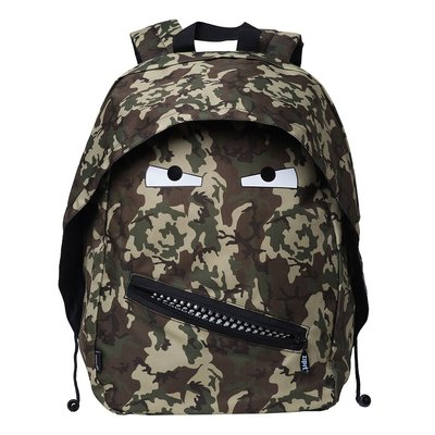 Backpack ZipIt Grillz Mini Green Camo