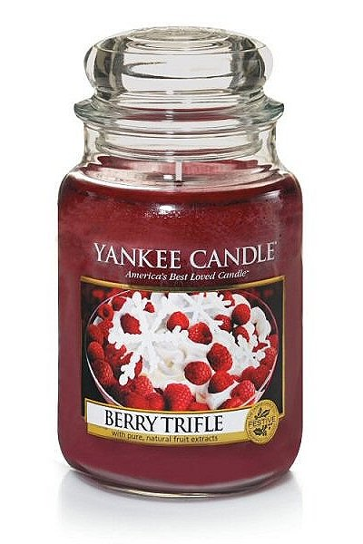 "Svece ""Classic Large Jar Berry  Trifle Candle"""